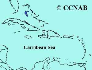 Bahama Yellowthroat range